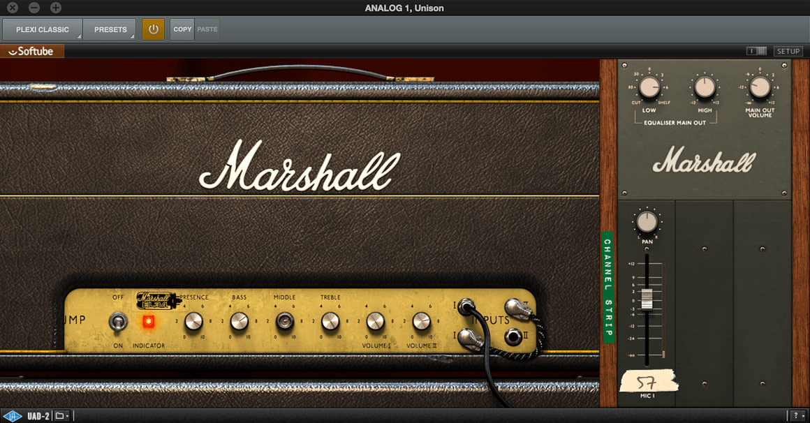 Universal Audio Marshall Plexi Classic