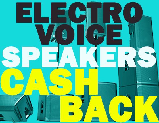 Earn Cashback on Electro-Voice ELX200 Speakers