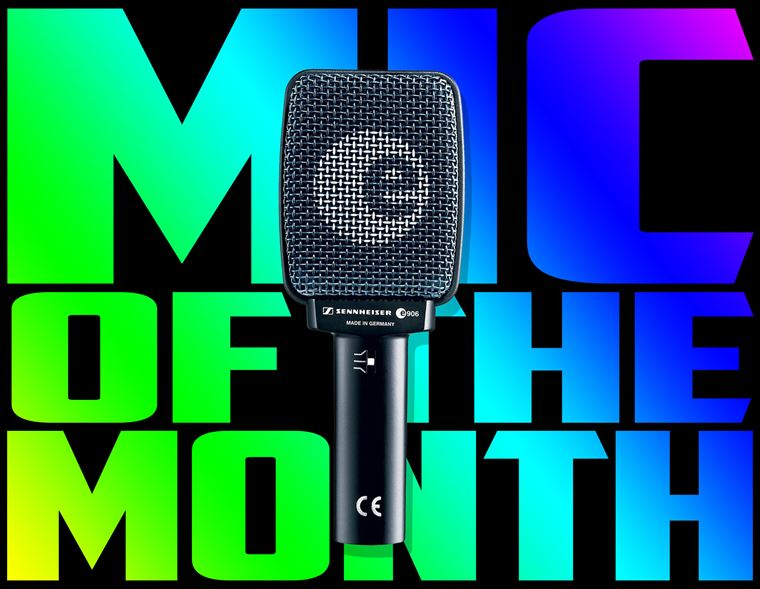 Offers: Mic of the Month - Sennheiser e906