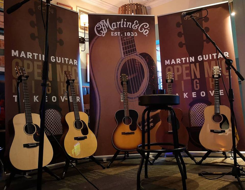 Events: Edinburgh Open Mic Night Martin Takeover