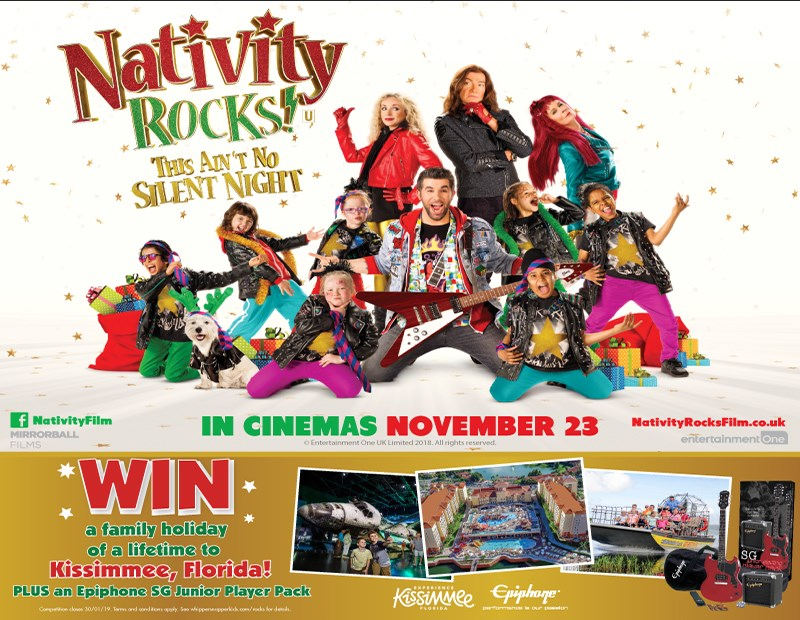 Competition: Win an Epiphone SG Junior Player Pack with Nativity Rocks!