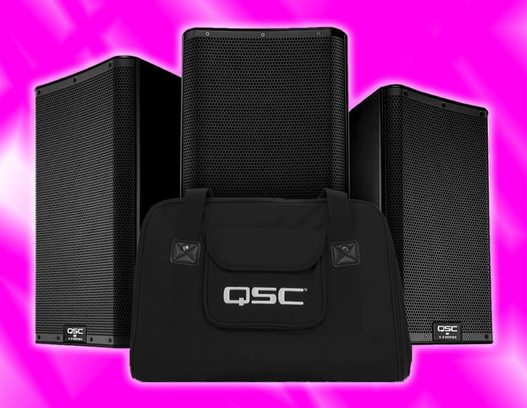Offers: Free tote bag with QSC K.2 Speakers