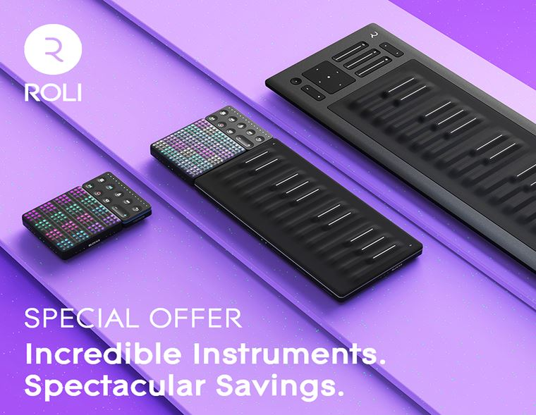 Offers: ROLI Cashback Promotion