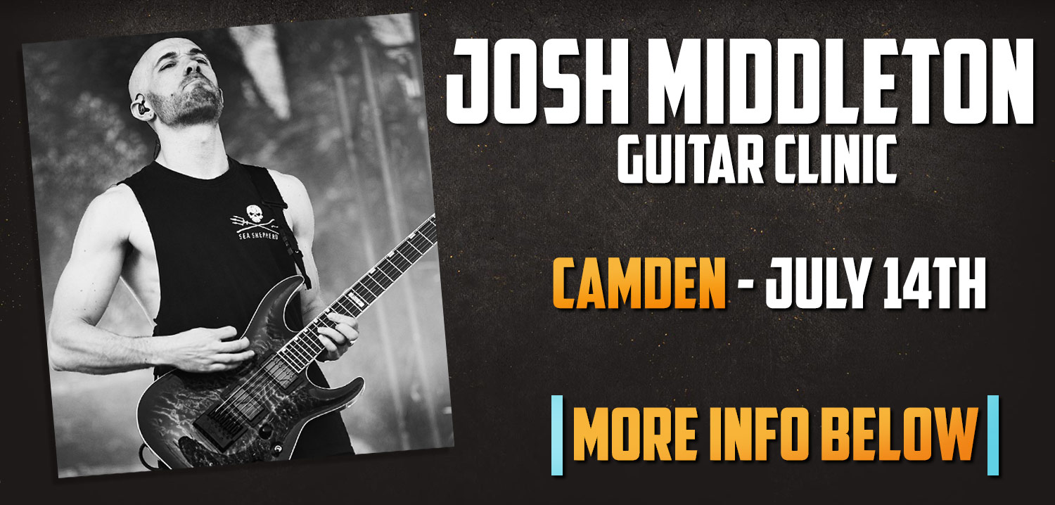 Josh Middleton at guitarguitar Camden