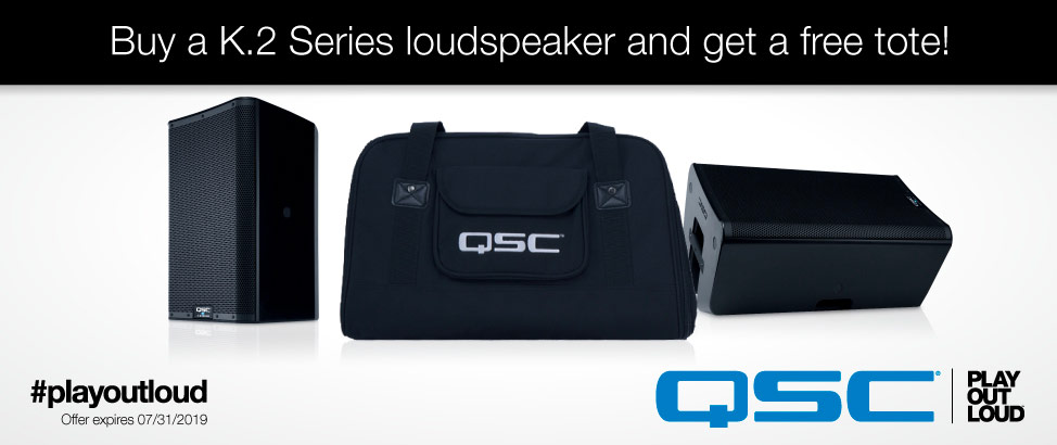 QSC Free Totes for K.2 Speakers