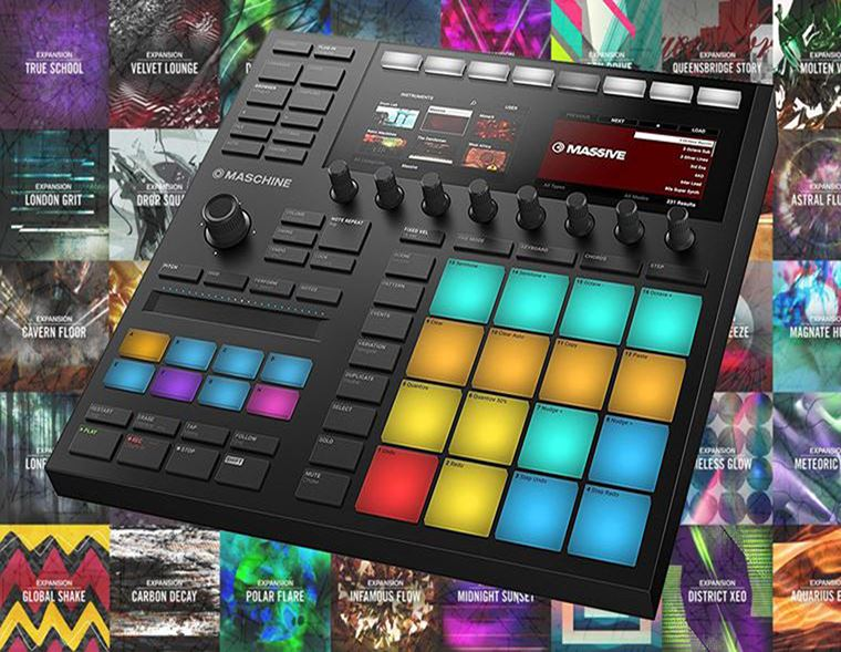 Offers: Claim free Expansion bundles when you buy a Native Instruments Maschine