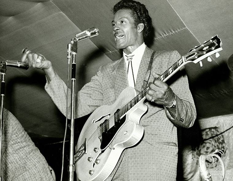 A closer look: Chuck Berry 1955 Gibson ES-350T