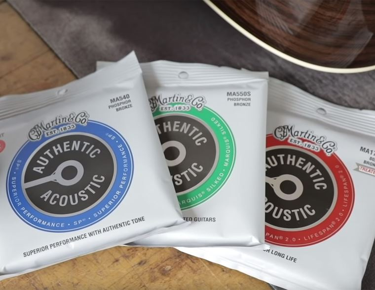 Events: Martin Authentic Acoustic Restring at guitarguitar Newcastle