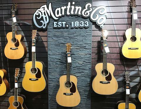 Martin Week: Martin Room Launch Party at guitarguitar Edinburgh
