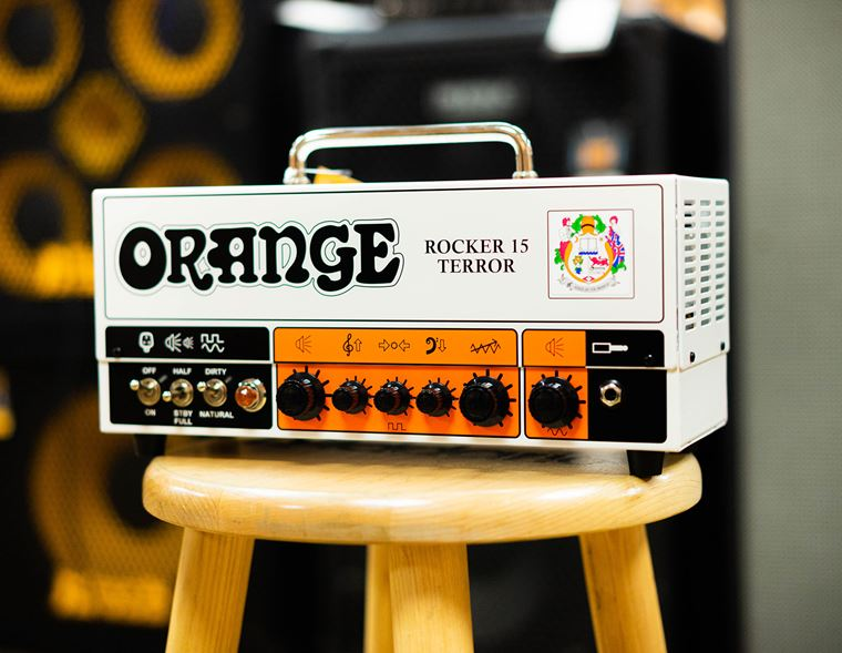 Competition: Win an Orange Rocker 15 Terror Head