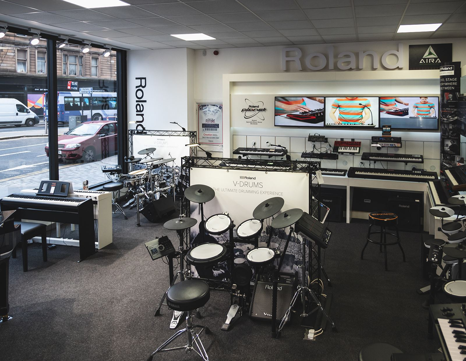 A Closer Look: Step into the Roland Planet at our Glasgow Digital store!