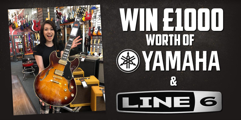 Win £1000 worth of Yamaha and Line 6 at guitarguitar