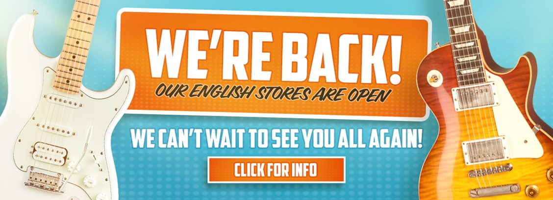 Stores Now Open