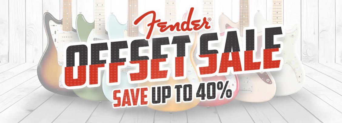 Fender Offset Sale