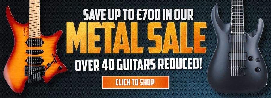 Metal Guitar Sale