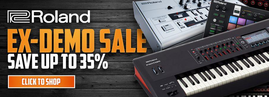 Roland Ex Demo Sale