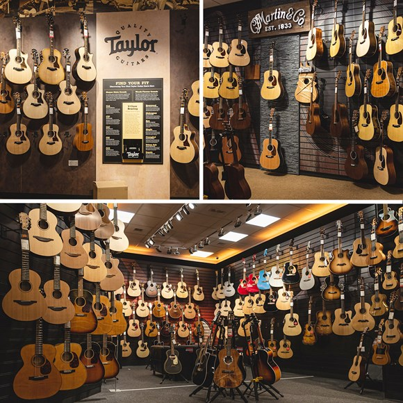 One of the UK's Biggest and Best Guitar Stores
