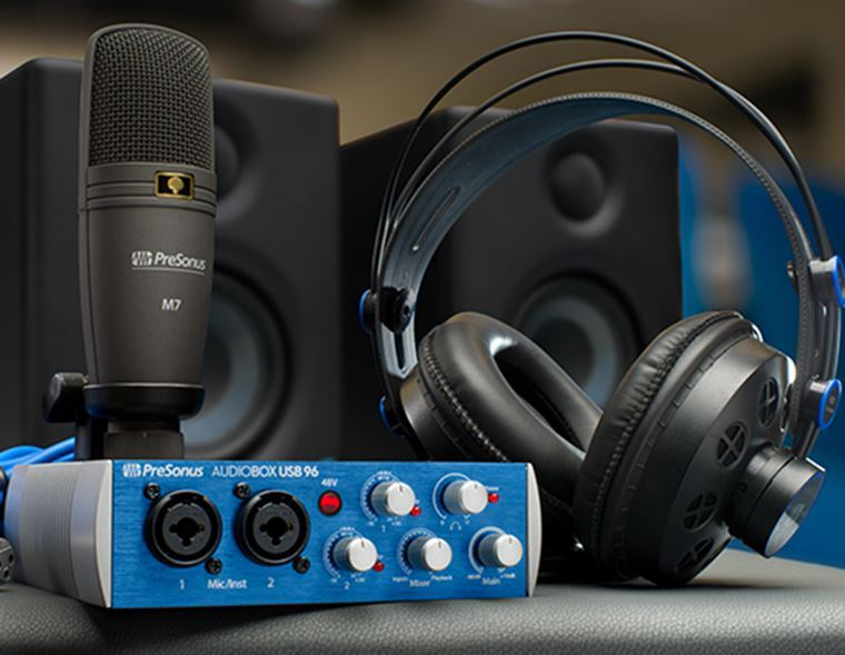 A Closer Look: Recording at Home With PreSonus
