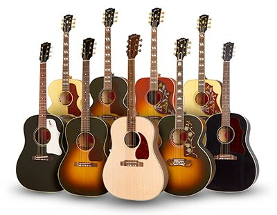 A Closer Look: Gibson Original Collection Acoustics