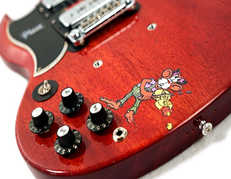 A Closer Look: Gibson Tony Iommi Monkey SG