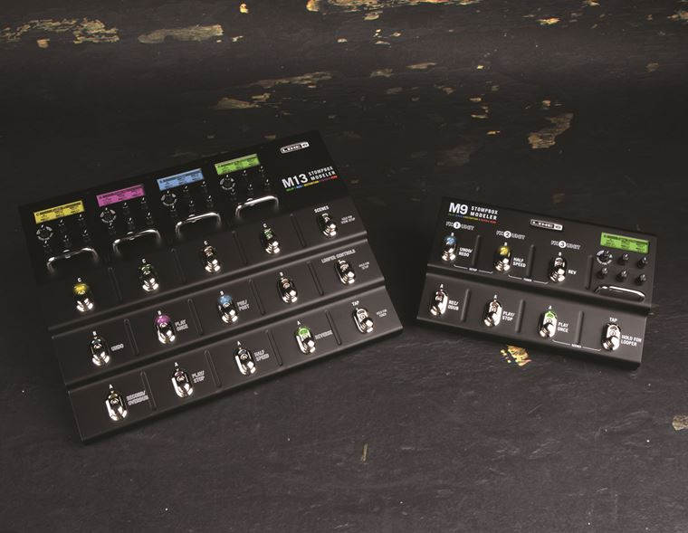 A Closer Look: Line 6 M Series Stompbox Modellers