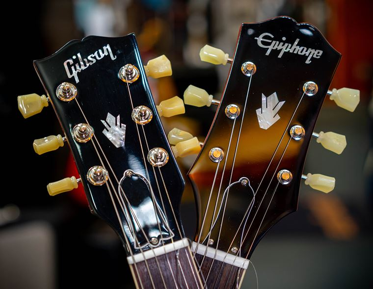 A Closer Look: New Gibson vs New Epiphone!