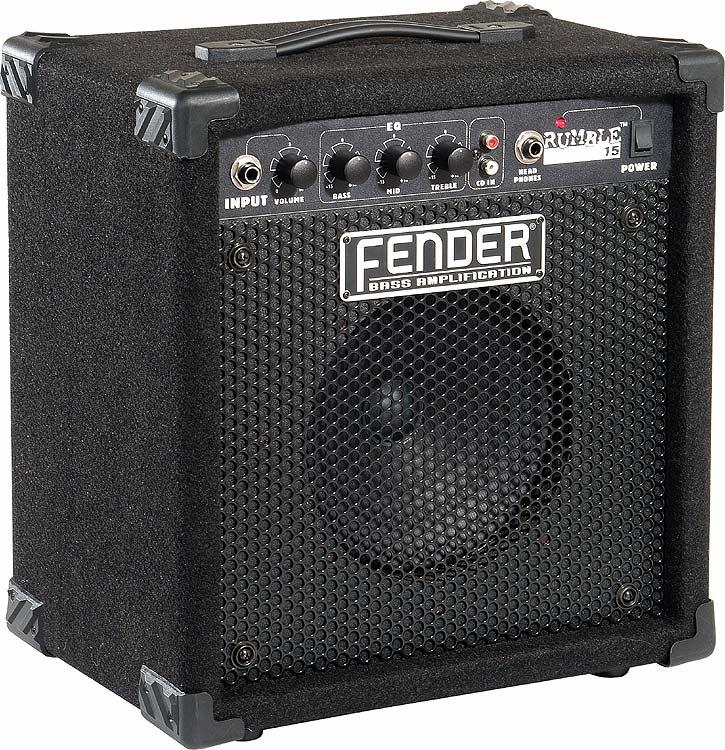 fender rumble 15 bass amp. Black Bedroom Furniture Sets. Home Design Ideas