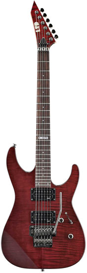 ESP Ltd M-100FM STBC See Thru Black Cherry