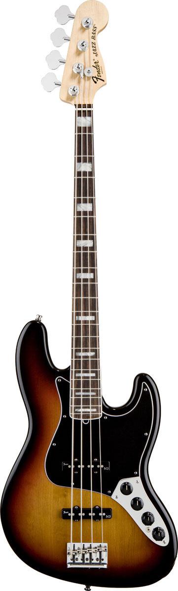 Circuito Jazz Bass Deluxe : Fender american deluxe jazz bass rw tone sunburst
