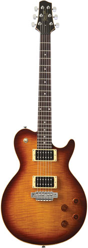 Line 6 Tyler Variax JTV-59 Tobacco Sunburst Modelling Guitar Single Cut