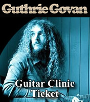 Tickets Guthrie Govan - 6th Dec - Birmingham