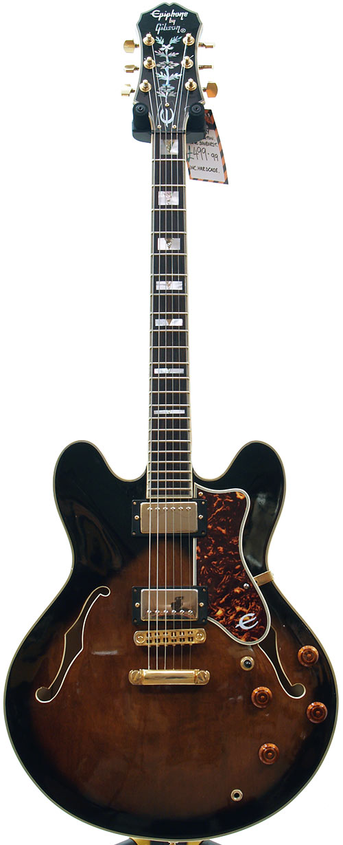 epiphone sheraton dating and information