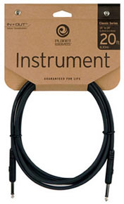 Planet Waves Classic Series Guitar Cable 20Ft