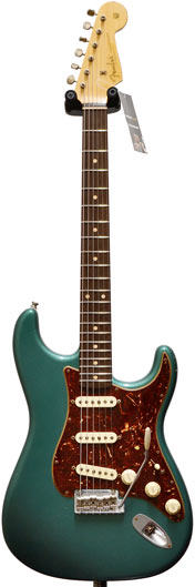 fender custom shop relic 60s midboost strat sherwood green tortoise shell pick guard. Black Bedroom Furniture Sets. Home Design Ideas
