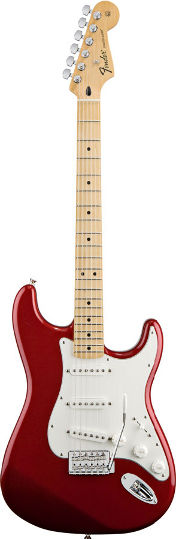 Fender Standard Strat Candy Apple Red MN