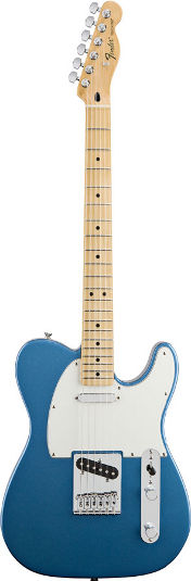 Fender Standard Tele Lake Placid Blue MN (New Spec)