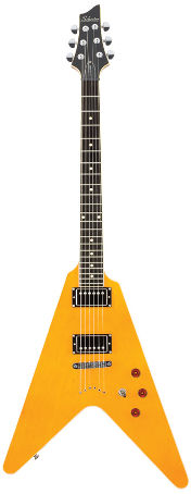 Schecter V-1 Classic Vintage Antique Yellow (End Of Line)