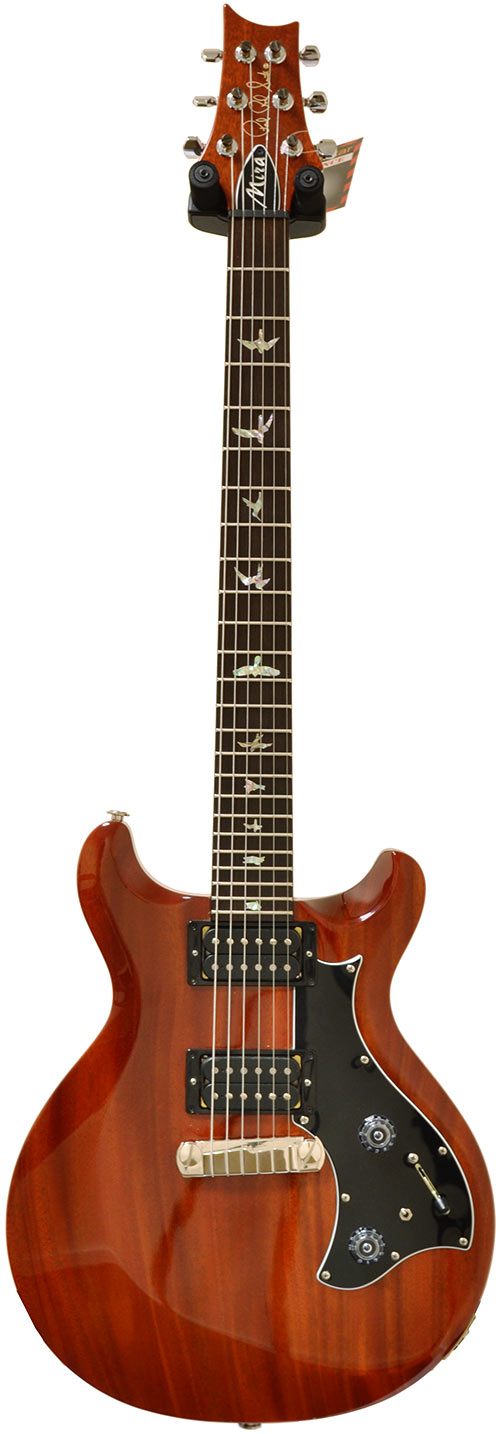 PRS Singlecut S2 Standard guitarra de satn, Vintage caoba