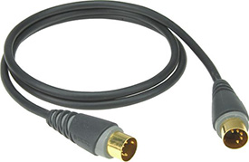 Klotz MID-010 3ft MIDI cable