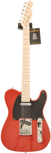 Fender Custom Shop Custom Deluxe Telecaster Dakota Red MN