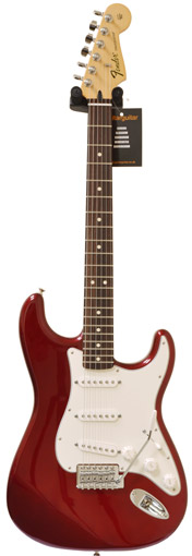 Fender Standard Strat Candy Apple Red RW (New Spec)