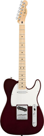 Fender Standard Tele Midnight Wine MN (New Spec)
