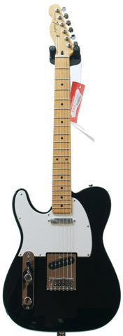 Fender Standard Tele Black LH MN (New Spec)