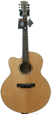 Finlayson JMAP-50CEGL All Solid Maple/Spruce with Fishman Presys LH (Gloss Top)