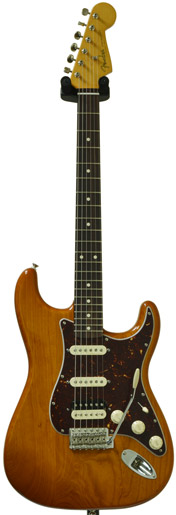 Fender FSR TBX Boost Player Strat HSS Amber Transparent