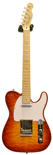 Fender Custom Shop Custom Deluxe Tele MN Faded Cherry Burst (2012) #7766