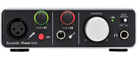 Focusrite iTrack Solo iOS Audio Interface