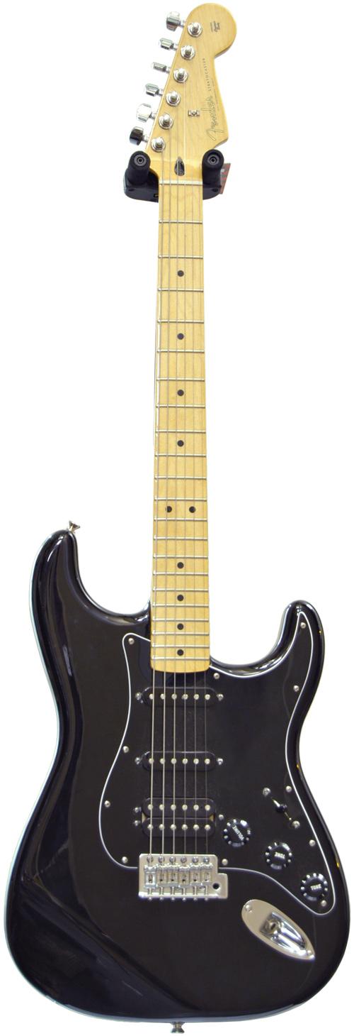 Fender Stratocaster Hss Mexican : fender mexican standard strat hss mn black pre owned ~ Hamham.info Haus und Dekorationen