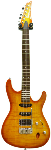 Ibanez SA320FM Trans Amber (Pre-Owned)