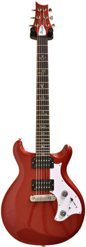 PRS Mira Metallic Red Birds #09156719 (Pre-Owned)